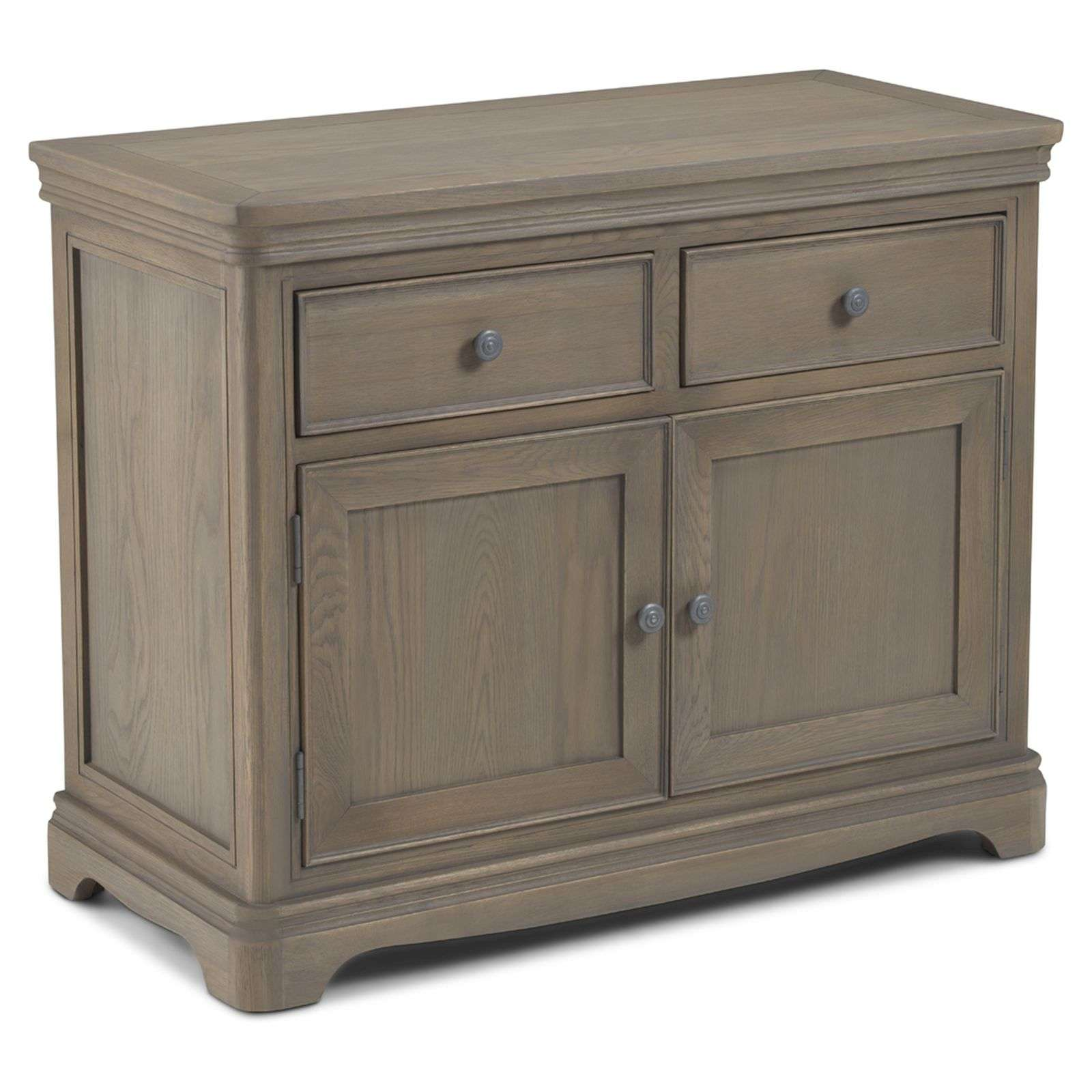 Welford Oak Grey Small Sideboard Available Online Now