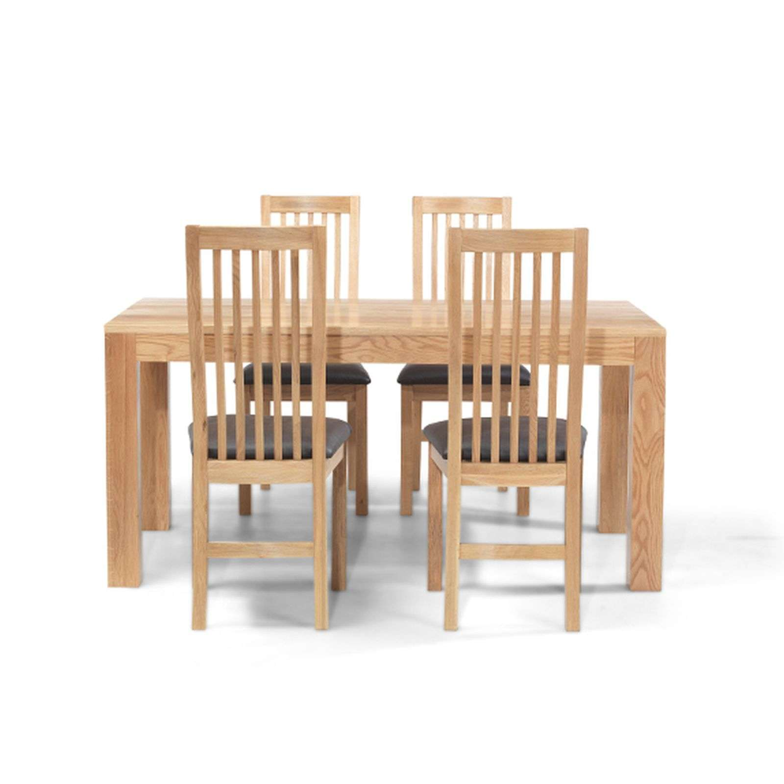Holmfield Oak Dining Table And Six Chairs Set