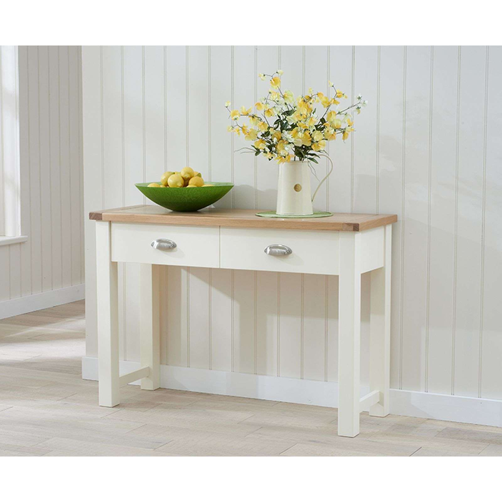 low priced 9f026 e3289 Sandringham Cream Painted Hall Console Table - Buy Now