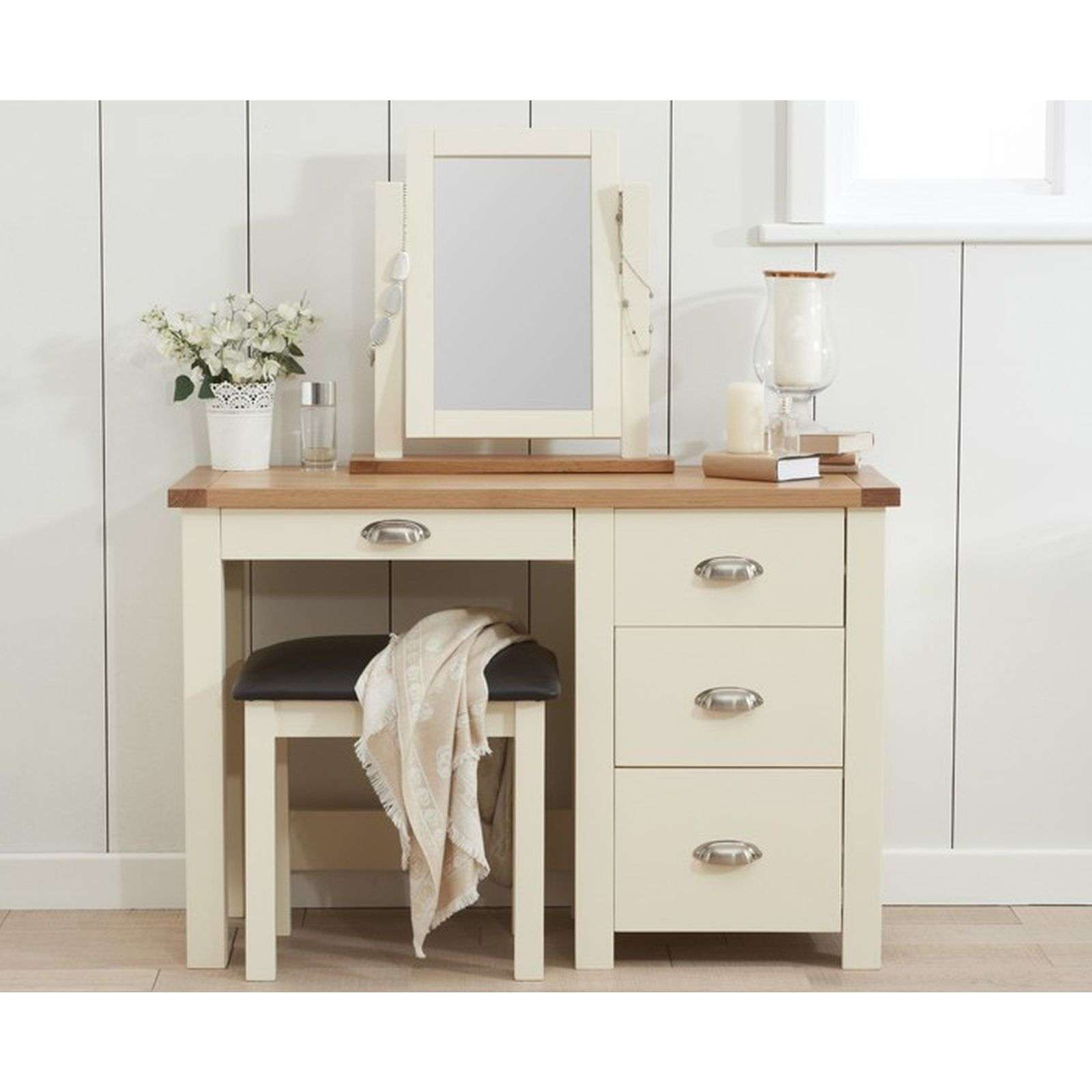 reputable site d3df0 af5cd Sandringham Cream Painted Dressing Table Set - Buy Now