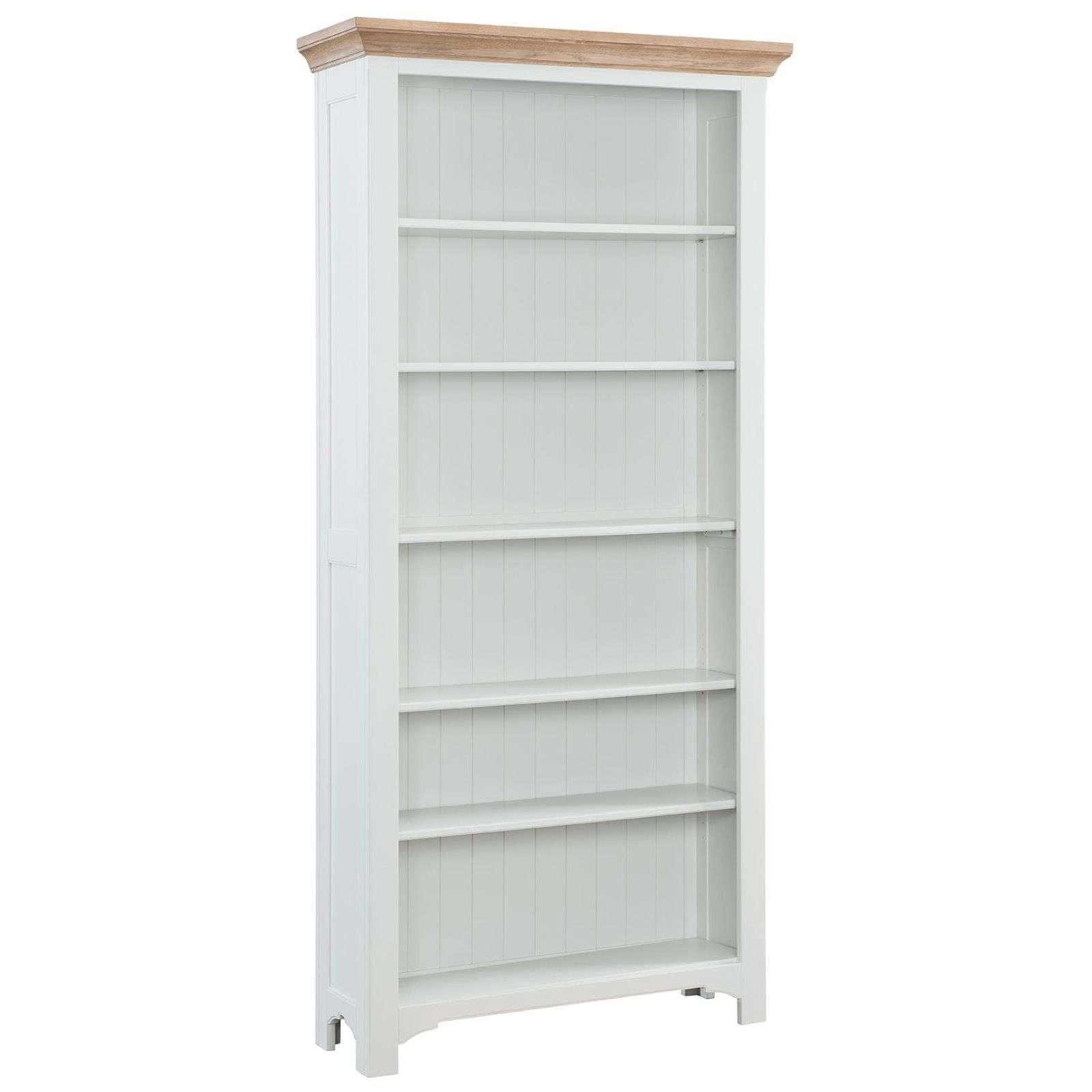 Georgia Grey Painted Oak Bookcase